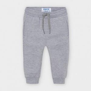 Pantaloni gri plusati baiat MAYORAL 704 MYPL03V