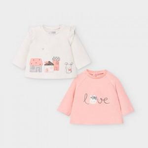 Bluza roz fetita Mayoral 2033 MYBL04V