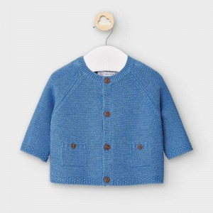 Cardigan bleu tricotat baiat MAYORAL 2334 MYG02V
