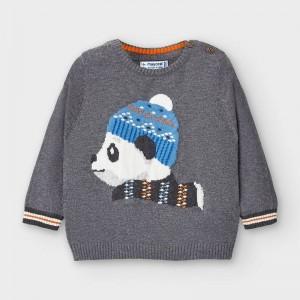 Pulover urs panda bebe baiat MAYORAL 2346 MYBL16V
