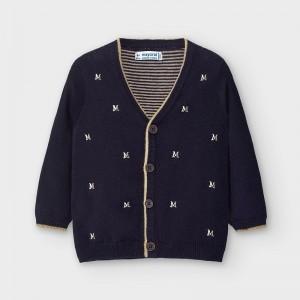 Cardigan elegant tricot bebe baiat MAYORAL 2353 MYBL17V