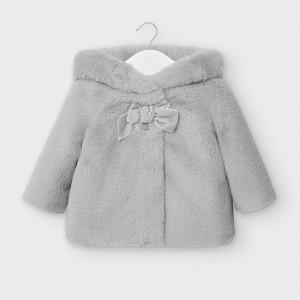 Palton gri plus bebe fetita MAYORAL 2408 MYG05V