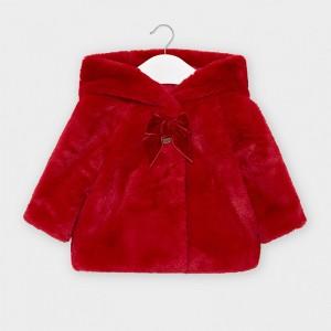 Palton rosu plus bebe fetita MAYORAL 2408 MYG05V