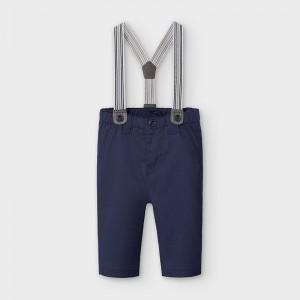 Pantaloni bleumarin cu bretele baiat MAYORAL 2565 MYPL13V
