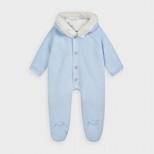 Combinezon bleu tricot  baiat MAYORAL 02631 MYCOMB02V