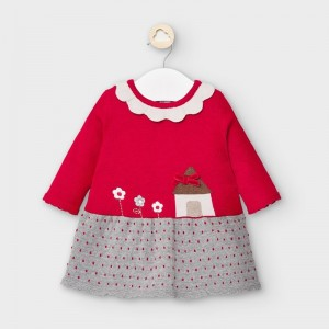 Rochie rosie tricot fetita MAYORAL 2855 MYR14V