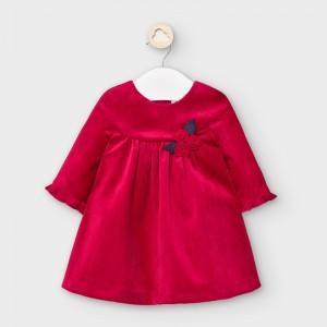 Rochie rosie catifea fetita MAYORAL 2862 MYR36V