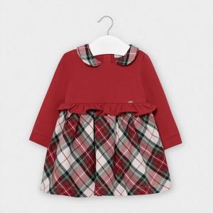Rochie rosie carouri fetita MAYORAL 2960 MYR24V