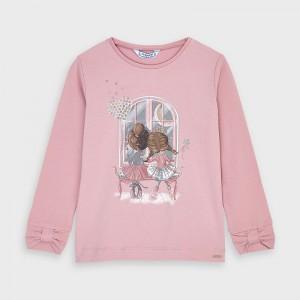 Bluza roz fetita MAYORAL 4067 MYBL55V