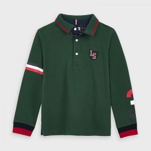 Bluza polo verde baiat MAYORAL 4134 MYBL31V