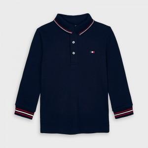 Bluza polo bleumarin baiat MAYORAL 4137 MYBL32V