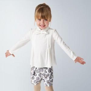 Bluza ivory guler fundita fetita MAYORAL 4148 MYCM09V
