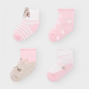 Set 4 sosete nou-nascut FATA 9306 MYSET15V
