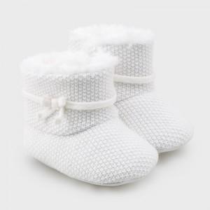 Ghete ivory tricot fetita MAYORAL 9337 MYGHE01V