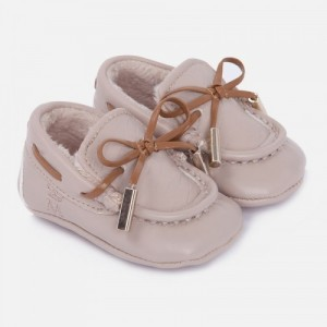 Pantofi crem baieti MAYORAL 9357 mypantf104z