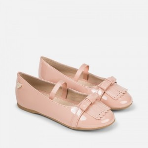 Pantofi nude fete MAYORAL mypantf06d