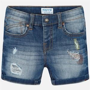 Pantaloni scurti de blug Mayoral MYPS07K