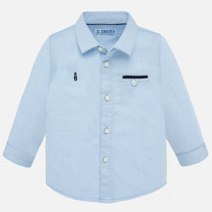 Camasa bleu maneca lunga eleganta baiat MAYORAL 1164 mycm07p