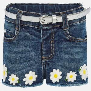 Pantaloni scurti denim bebe fetita 01203 MYPS05P