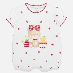 Pijama scurta grafica bebe fetita nou-nascuta MAYORAL 01758 MYBD15P