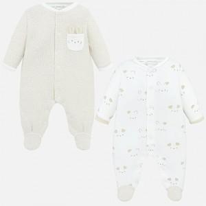 Set pijamale lungi bebe baiat nou-nascut MAYORAL 01769 MYSET71P