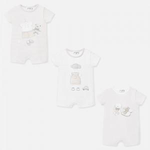 Set pijamale scurte cu desene bebe baiat nou-nascut 1773 MYSET21P