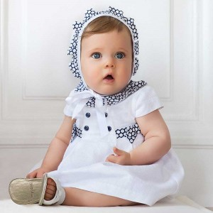 Rochie alba fetite MAYORAL 1857 MYR102W