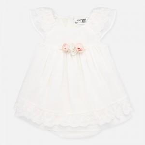Rochie ceremonie si chilotei bebe fetita MAYORAL 1876 myr28p