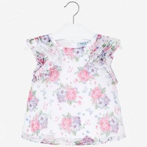 Bluza cu flori fetita MAYORAL 3179 MYBL103W