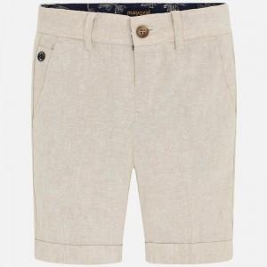Pantaloni scurti bej baiat MAYORAL 3253 MYPS34W