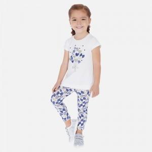 Set tricou si leggings cu fundite fetita MAYORAL 3725 myset32p