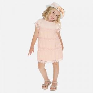 Rochie peach fata MAYORAL 3917 MYR112W