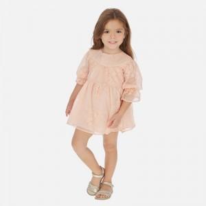 Rochie peach fata MAYORAL 3918 MYR113W