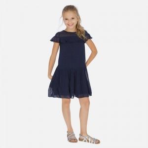 Rochie bleumarin fata MAYORAL 6976 MYR148W