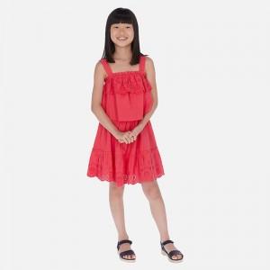 Rochie rosie fata MAYORAL 6982 MYR153W