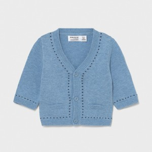 Cardigan tricot new born baiat 1334 - MYBL03X