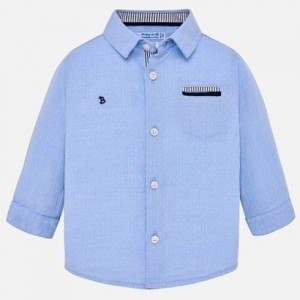 Camasa bleu maneca lunga eleganta baiat MAYORAL 1134 mycm07k