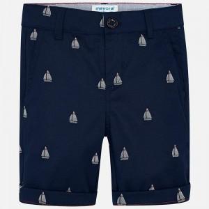 Pantaloni scurti bleumarin MAYORAL MYPS06K