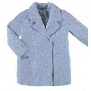 Palton albastru matlasat fete MAYORAL 7495 myg79c