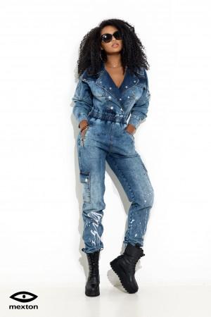 Salopeta jeans marca Mexton MEXSL8245V