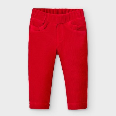 Pantaloni rosii lungi raiat fetita MAYORAL 514 MYPL02V
