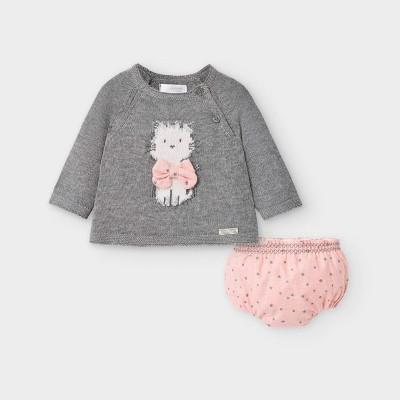 Set pantaloni tip chilotei si pulover fetita MAYORAL 2217 MYSET25V