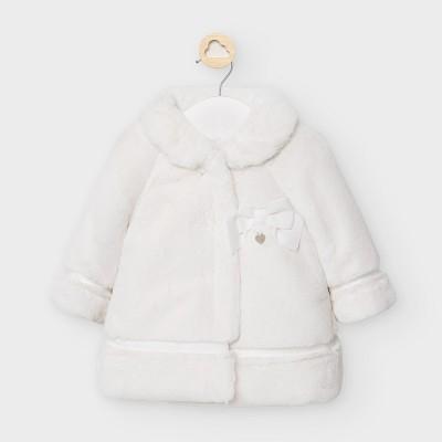 Palton alb blana fetita MAYORAL 2465 MYG32V
