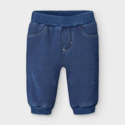 Pantaloni plus denim nou-nascut baiat 2566 MYPL115Y