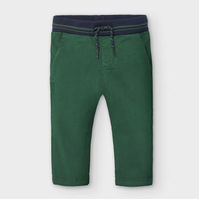 Pantaloni verzi lungi chino bebe baiat 2580 MYPL117Y