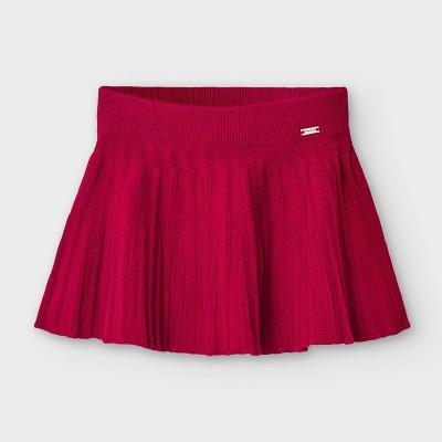Fusta rosie plisata  tricot bebe fetita MAYORAL 2938 MYFS01V