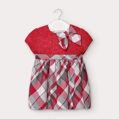Rochie combinata tricot bebe fetita 2952 MYR103Y