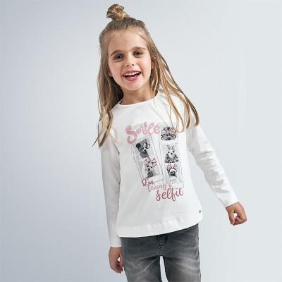 Bluza cu imprimeu roz fata MAYORAL 4066 MYBL101Y