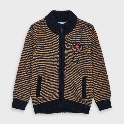 Jacheta tricot eleganta baiat 04337 MYBL150Y