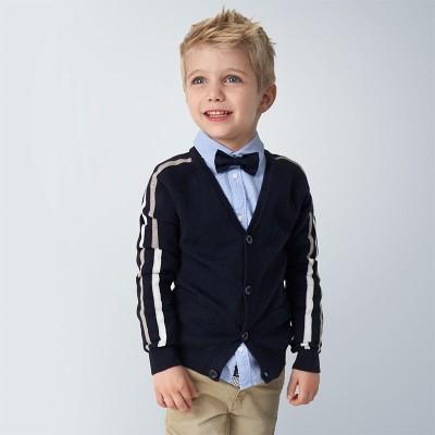 Cardigan tricot baiat 04339 MYBL151Y